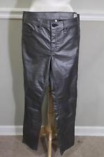 Rag & Bone Silver Pewter Metallic Coated Jean Leggings WAIST 31