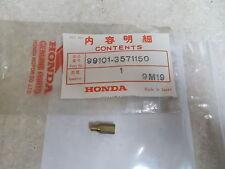 NOS OEM Honda Main Jet (#115) 1974-2008 CR80 ATC200 TRX450 MT250 99101-357-1150