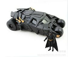 The Dark Knight With Figure Toys BATMAN BATMOBILE Cool Car Doll Tumbler Vehicle
