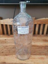 More details for large vintage chemist bottle 38.5 cm tall