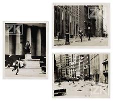 NEW YORK Holocauste 3 Photos BELAFONTE Running man Diable Devil Apocalypse 1959