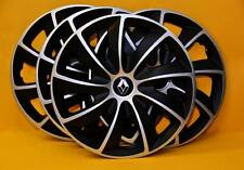 """13"""" Renault Clio, Twingo, Kangoo, Megane.. rueda Adornos, cubiertas, Tapacubos, cantidad 4"""