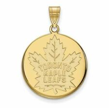 10ky NHL Toronto Maple Leafs Large Disc Pendant