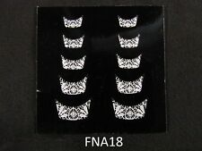 French Nail Tips Manicure Art Sticker Decals N-S-FNA18