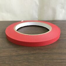 """New listing Produce Tape 3/8"""" x 60yd Bag Sealing Tape Red"""
