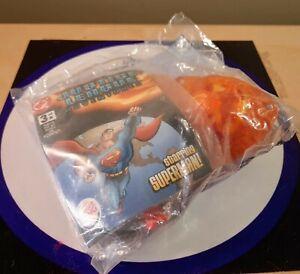 DC JUSTICE LEAGUE ADVENTURES SUPERMAN BURGER KING 2003 NEW