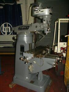 BRIDGEPORT Turret Mill - Service and repairs