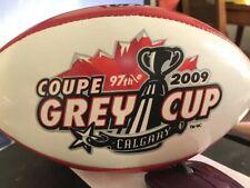 Wilson CFL Football BALL Grey Cup 2009 Calgary Souvenir