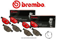 [FRONT+REAR] BREMBO NAO Premium Ceramic Disc Brake Pads + Sensor BB960238