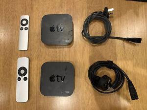 Bundle Of TWO Apple TV (3rd Generation) HD Media Streamer -  A1469