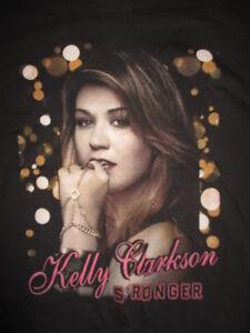 "2012 American Idol KELLY CLARKSON ""Stronger"" Concert Tour (SM) T-Shirt"