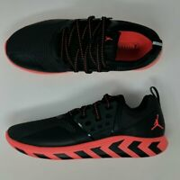 Nike Air Jordan Lunar Grind Training Shoes Black Infrared 23 AA4302-006 New