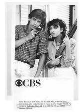 ROBBY BENSON, ELIZABETH PENA Terrific ORIGINAL TV Photo TOUGH COOKIES
