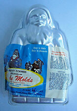 Vintage Nordic Ware Santa Claus Stand Up 3D Heavy Aluminum Cake Mold Pan New