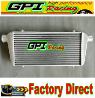 "FMIC Universal Aluminum Intercooler 450X300X76mm 3"" In/Outlet 76mm Tube &Fin"