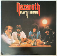NAZARETH PLAY'N' THE GAME LP MOUNTAIN UK 1976 EX CONDITION PRO CLEANED