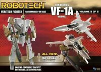 Robotech Ben Dixon VF-1A Transformable Veritech Fighter Action Figure Toynami