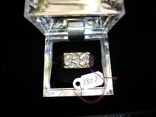 Handmade Jewelry Silver Women Men Ring Nugget Gold Plated