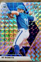 2020 Panini Mosaic Bo Bichette Silver Prizm Rookie Card - Toronto Blue Jays
