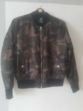 Ladies woman's jacket ,short camoflauge coat in size 12 by Atmosphere.