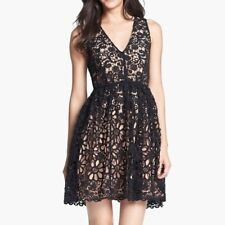French Connection Daisy Fit & Flare Lace A-Line Dress 6 NWT! $298
