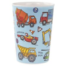 Little Stars Vehicle Beaker Childrens Blue Drinking Cup Tumbler Cars Kids Drinks