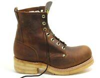 492 Bottes à Lacets Chaussures Basses Un en Cuir Hommes Braun Buffalo Trapper 45