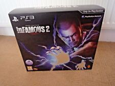 PLAYSTATION 3 INFAMOUS 2 HERO EDITION / CONTENTS SEALED