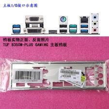Original IO I/O Shield Back Plate Blende Bracket for ASUS TUF B350M-PLUS GAMING
