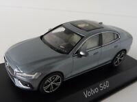 VOLVO S60 2018 OSMIUM GREY 1/43 Norev 870011 S 60 Limousine Sedan