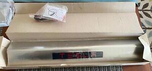 TESLA Model S ILLUMINATED DOOR SILL PAIR NEW SEE PHOTOS STAINLESS STEEL.NICE