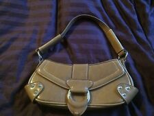 ALDO SMALL Brown SHOULDER PURSE EUC