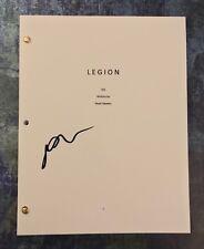 GFA Legion Lenny Busker * AUBREY PLAZA * Signed Full TV Series Script COA