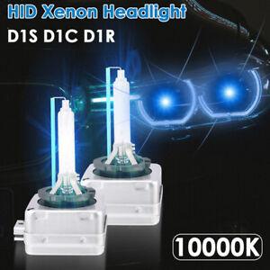 2pcs D1S D1R 10000K Cool Blue HID Replacement Xenon Headlight Light Bulbs Lamps