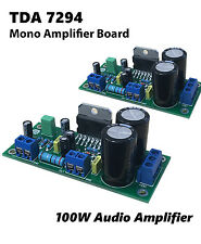 2pcs High Quality 100W TDA7294 Mono Audio Power Amplifier DC12-50V Assembled
