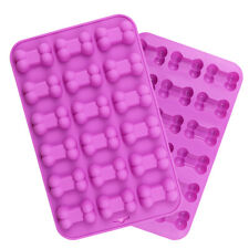Silicone 18 Bone Chocolate Mould Cookies Biscuit Baking Ice Cube Jelly Tray Mold