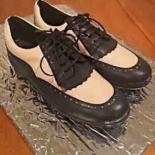 Women's Bally Golf Sport Shoes Athletic Black White