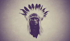 Framed Print - Native American Indian Chief (Picture Sioux Cheyenne Apache Art)