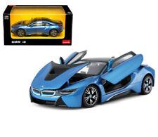 RASTAR 1:24 W/B BMW I8 DIECAST CAR 56500BL BLUE COLOR