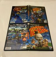 Disney's Chicken Little 1 & Ace in Action Sony PlayStation 2 PS2 COMPLETE VG