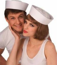 Sailor Hat GOB White Cap Military Navy Seaman Naval Sea Captains SHIPS FROM USA