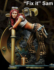 Scale 75 'Fix It Sam' Steam punk 75mm Metal Unpainted Kit