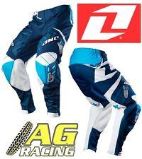 One Industries 2012 Defcon Azul Marino Motocross Enduro pantalón Pantalones Pantalones 34 pulgadas pulgadas