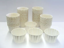 250 CT. 2oz Disposable Paper Portion Cups Demo souffle