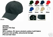 Wholesale Lot 144 Flex Stretch Baseball Caps Hat Fitted