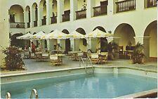 Puerto Porto Rico San Juan - El Convento Hotel 1964 cover mailed postcard
