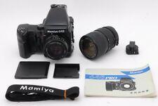 [Exc+++] Mamiya 645 Pro AE Finder Wainder Grip w/ 80mm f/2.8 N , 55-110mm #M213
