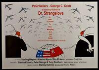 Manifesto The Dottor Strangelove STANLEY Kubrick Dr Peter Sellers P11