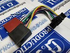 Cavo ISO adattatore autoradio radio JVC 16 pin dal 2017 in poi 22x10,7 mm