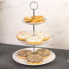 Etagere 3 Etagen Servierplatte Muffinständer Servierständer Keramik Ständer
